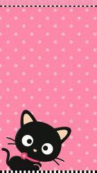 pink cute cat wallpapers iphone backgrounds resolution lucu 3d wallpaperaccess wallpapercave