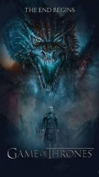 Wallpaper Game Of Thrones Dragon Background