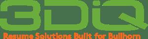 3DIQ logo with tagline