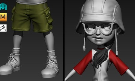 Game Character Sculpting For Beginners with Zbrush & Maya