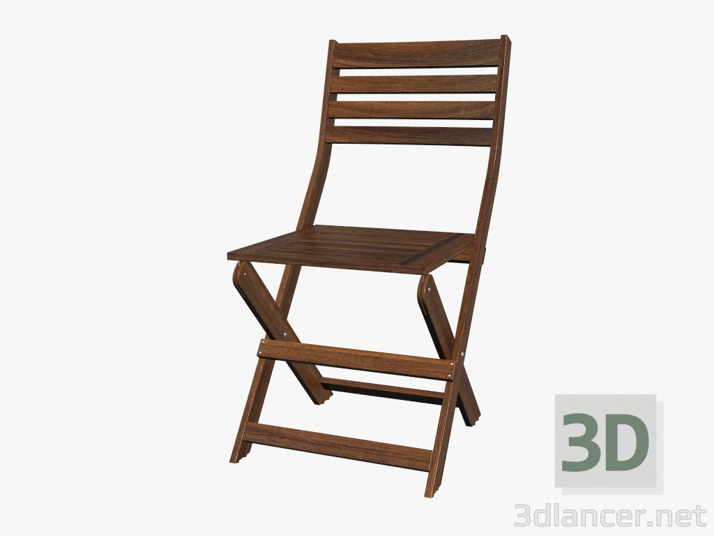 folding chair parts manufacturer grey velvet dining chairs 3d model ikea id 16174