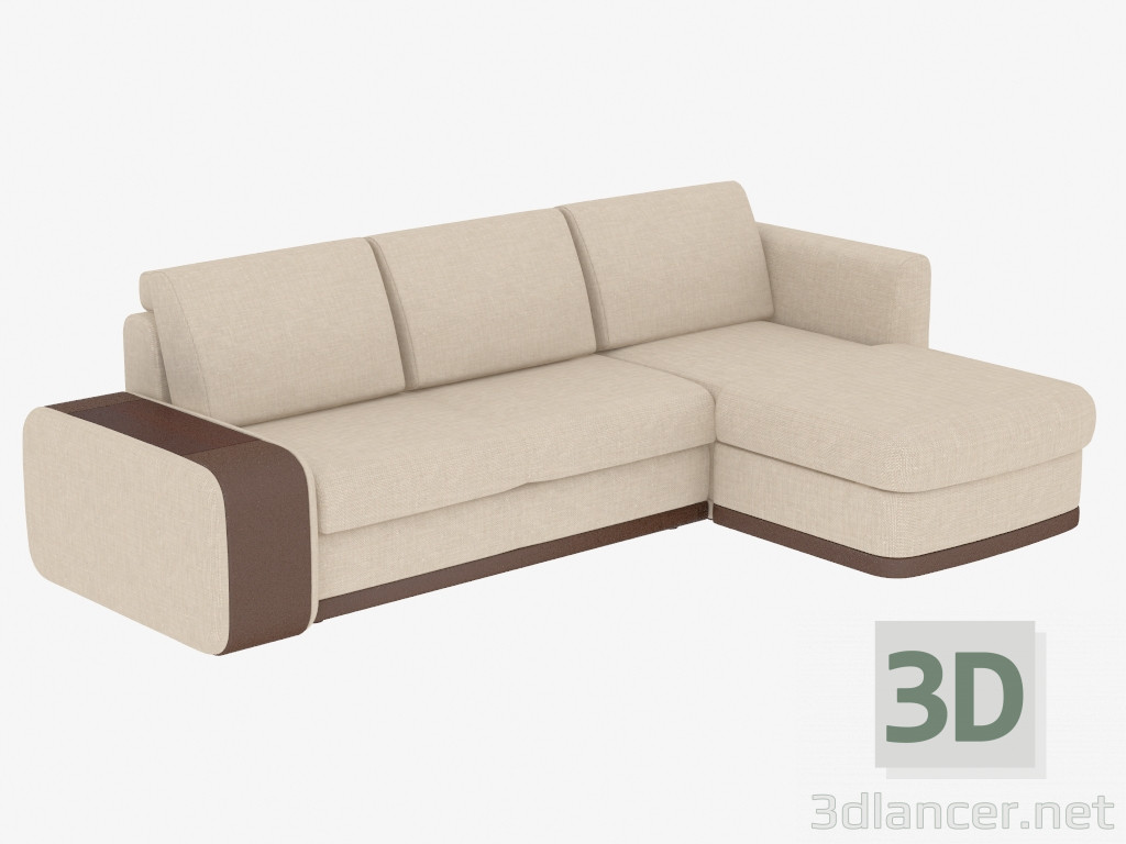 corner modular sofa bentley garden 3d model manufacturer pushe id 19305