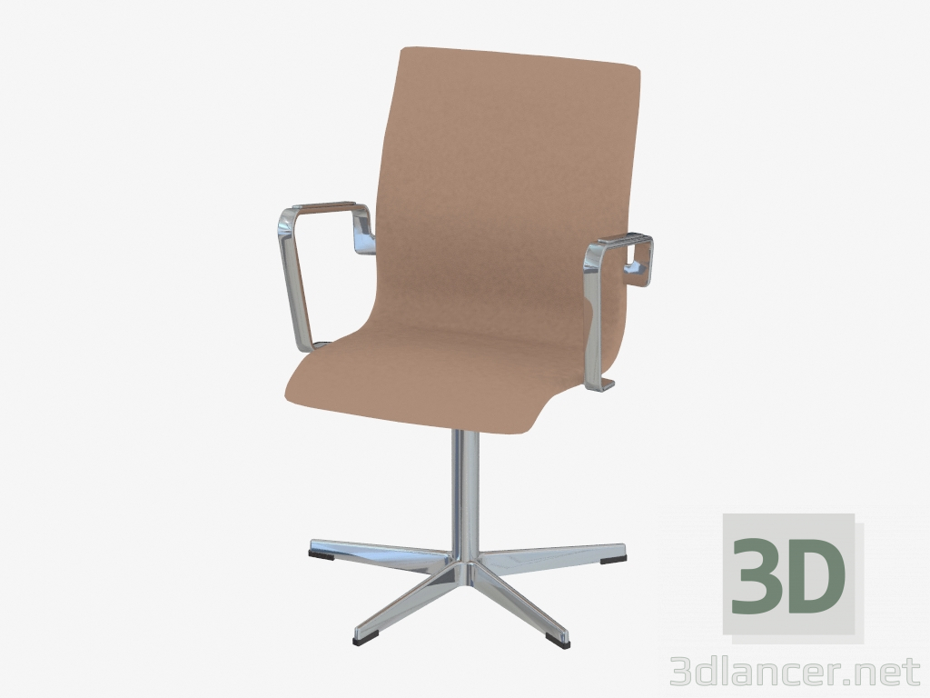 xxl desk chair graco duodiner high replacement cover 3d модель Кресло офисное oxford без колесиков с низкой