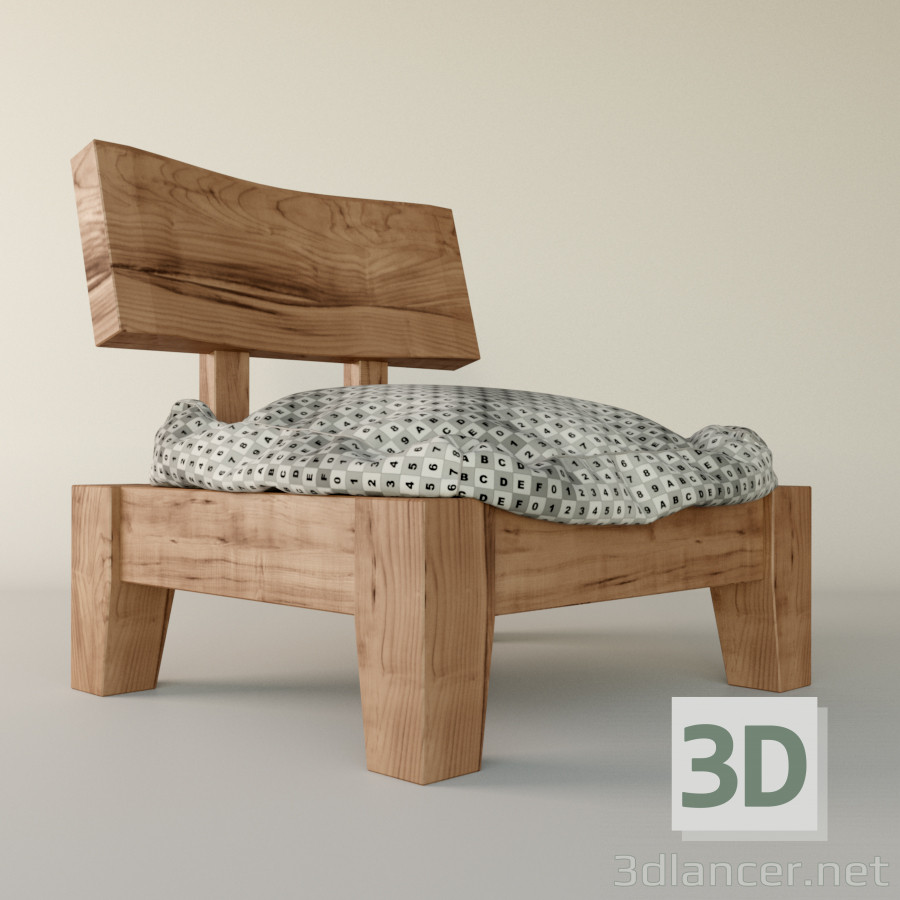 Japanese Chair 3d Model Japanese Chair Max 2011 Max 2012 Max 2013 Max 2014