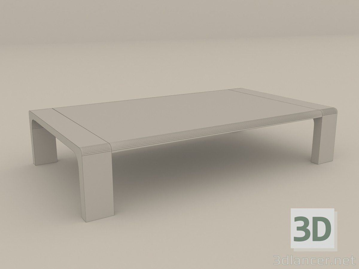 japanese table and chairs parson covers 3d model low