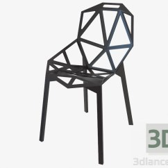 Chair Design Icons Modern Desk 3d Model Konstantin Grcic One Max 2013 Free Preview