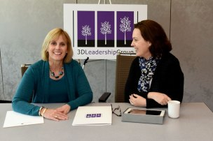 3D Leadership Group Partners Sue Williamson and Angie O'Donnell
