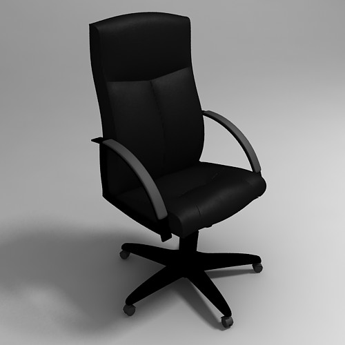 office chair 3d model old wooden 3dlenta models library view full size image