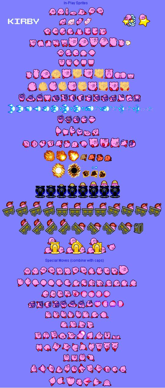 Sample Kirby Sprites