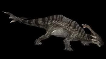 Animal Monster Hunter Herbivorous Dinosaur Monster Of Evil