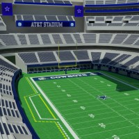 AT&T Stadium 3D Model - Realtime