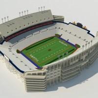 Auburn Stadium 3D Model