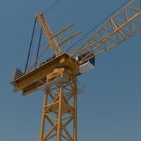 Luffing Boom Crane 3D Model