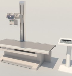 high frequency radiography x ray machine 3d model  [ 1200 x 900 Pixel ]