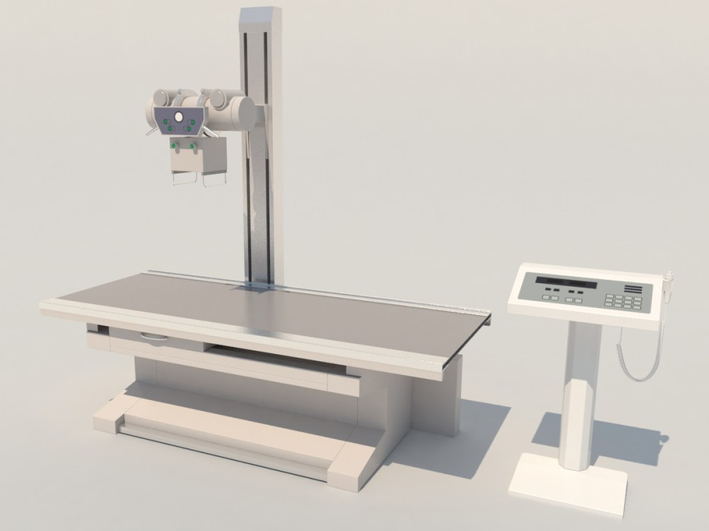 medium resolution of high frequency radiography x ray machine 3d model