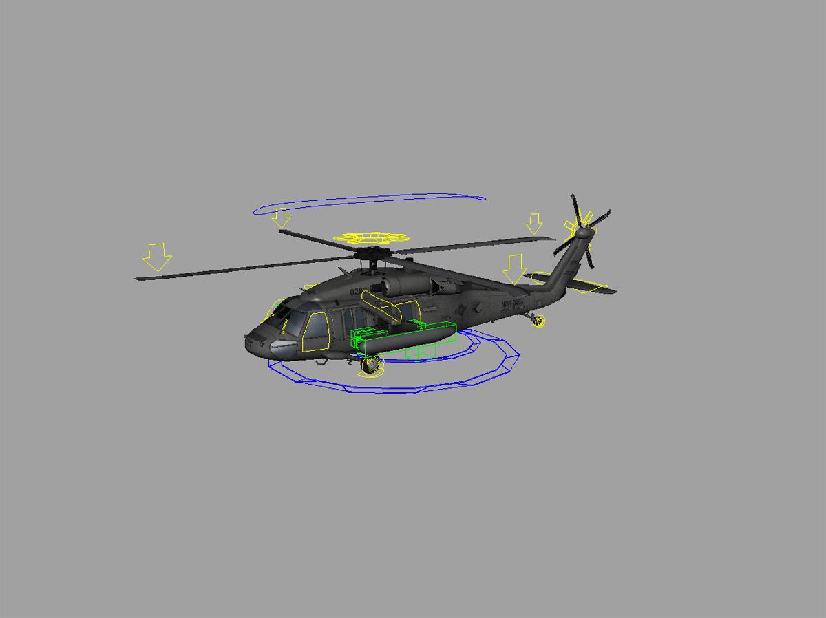 Sikorsky Hr2s Helicopter