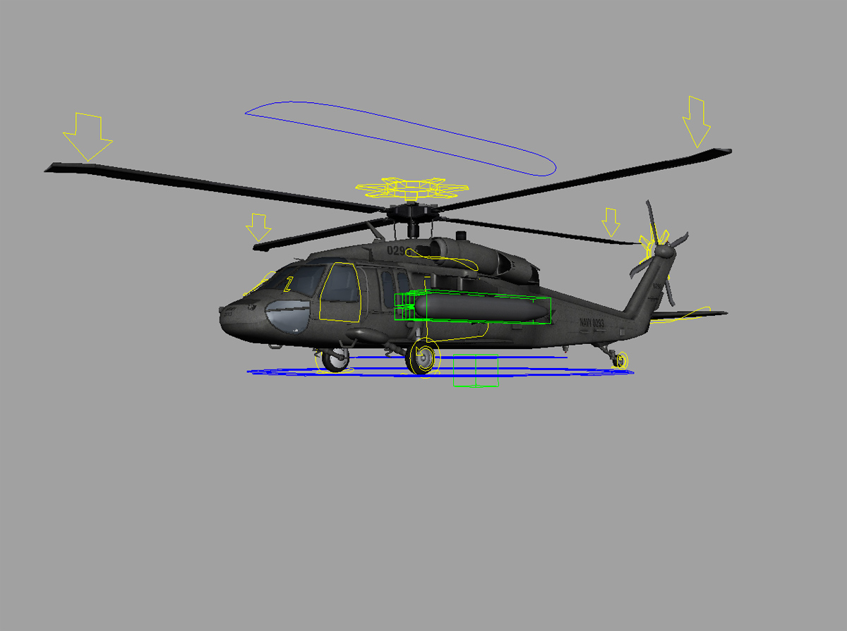 hight resolution of sikorsky uh 60m black hawk rig 3d 5