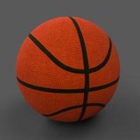 Basketball Ball PBR 3D Model