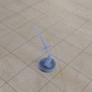 Miniatures Flying Sword