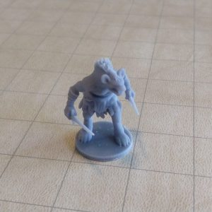 Miniatures Gnoll Skirmisher