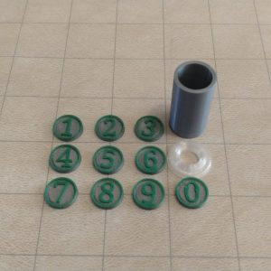 Accessories Initiative Combat Counters and Container
