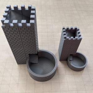 Accessories RPG Magnetic Mini Dice Tower