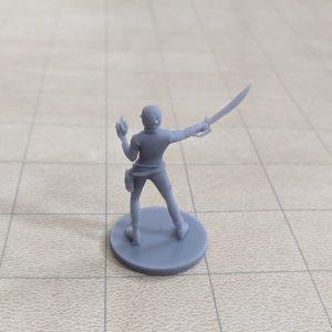Elf Female Hexblade Warlock Back