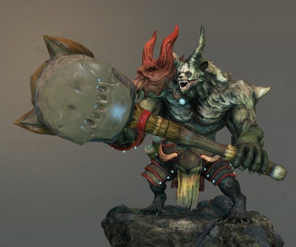 Game Model Challenge 1st place beast