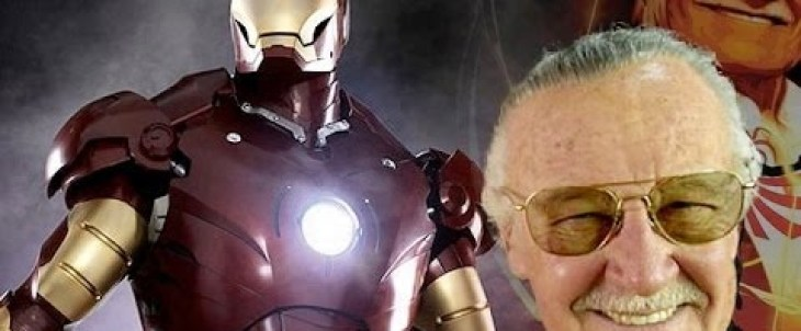 Stan Lee meets Real Tony Starks at Legacy Effects