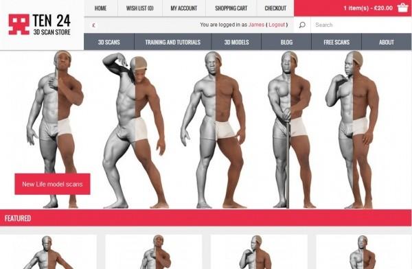 Ten24 3D Scan Store