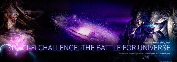 3D Sci-Fi Challenge The Battle for Universe