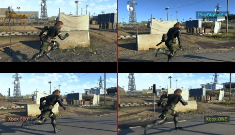 MGSV GROUND ZEROES Comparisons