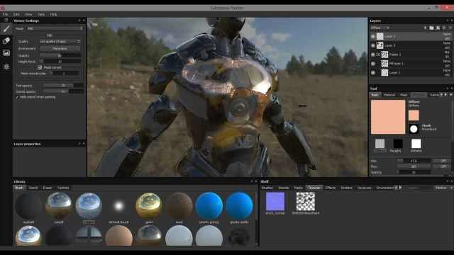 Substance Painter Beta 1 Walkthough Video