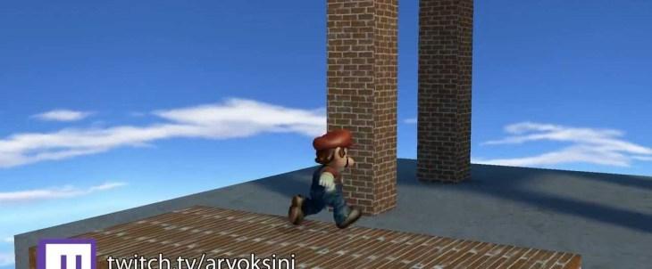 Super Mario 64 Fan Remake VLog1
