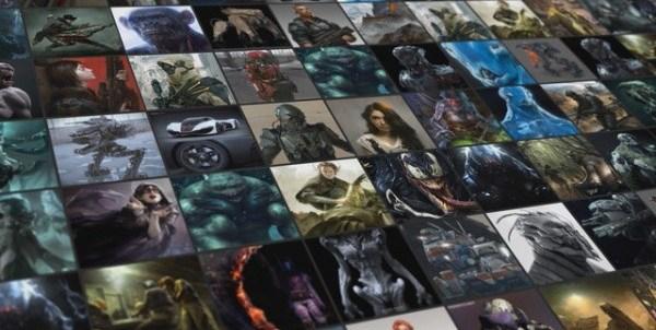 Next generation website for CG artists