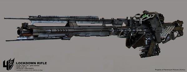 Transformers 4 Concept Design Lockdown Rifle 04