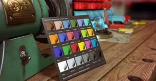 Marmoset ColorChecker