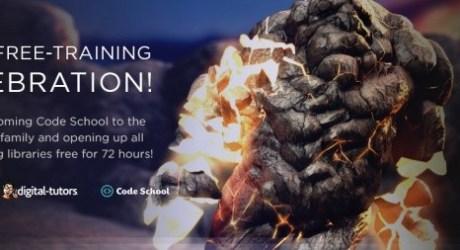 72 Hours Free Training Digital-Tutors