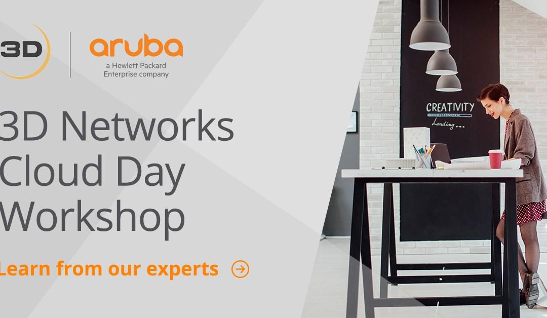 Webinar: Aruba Cloud Day Workshop
