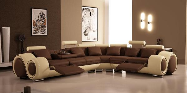 modern living room with sectional sofa ULTRA MODERN SOFA FURNITURE DESIGN Â« 3D | 3D News | 3ds