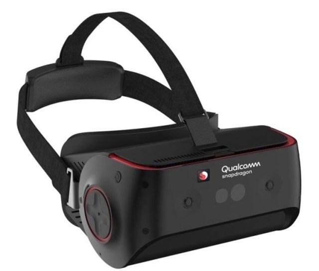 qv1 Qualcomm представила эталонный VR-шлем на платформе Snapdragon 845