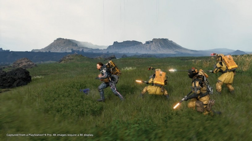 Image result for death stranding gameplay