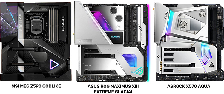 ASRock mocks MSI and ASUS for copying the design of their X570 Aqua motherboards