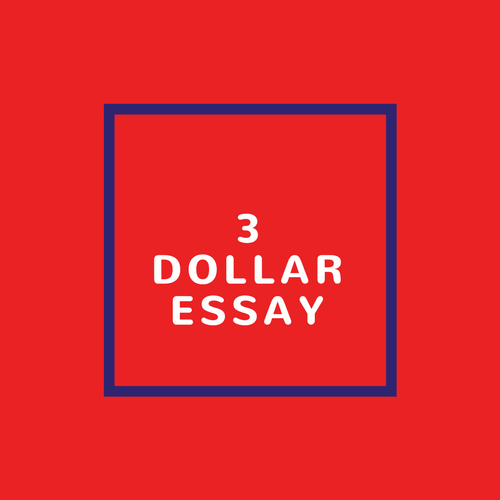 3 Dollar Essay
