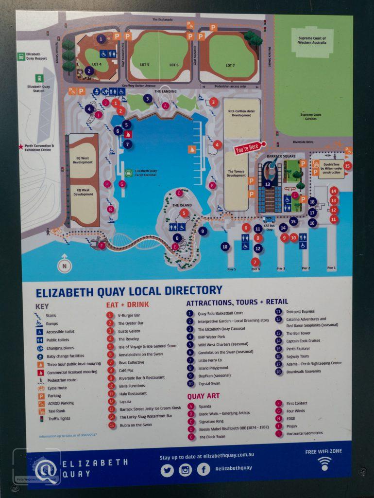 Perth - Mapa