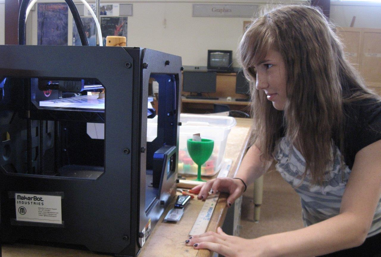 Makerbot Replicator 3D Printers for Teachers Only 98