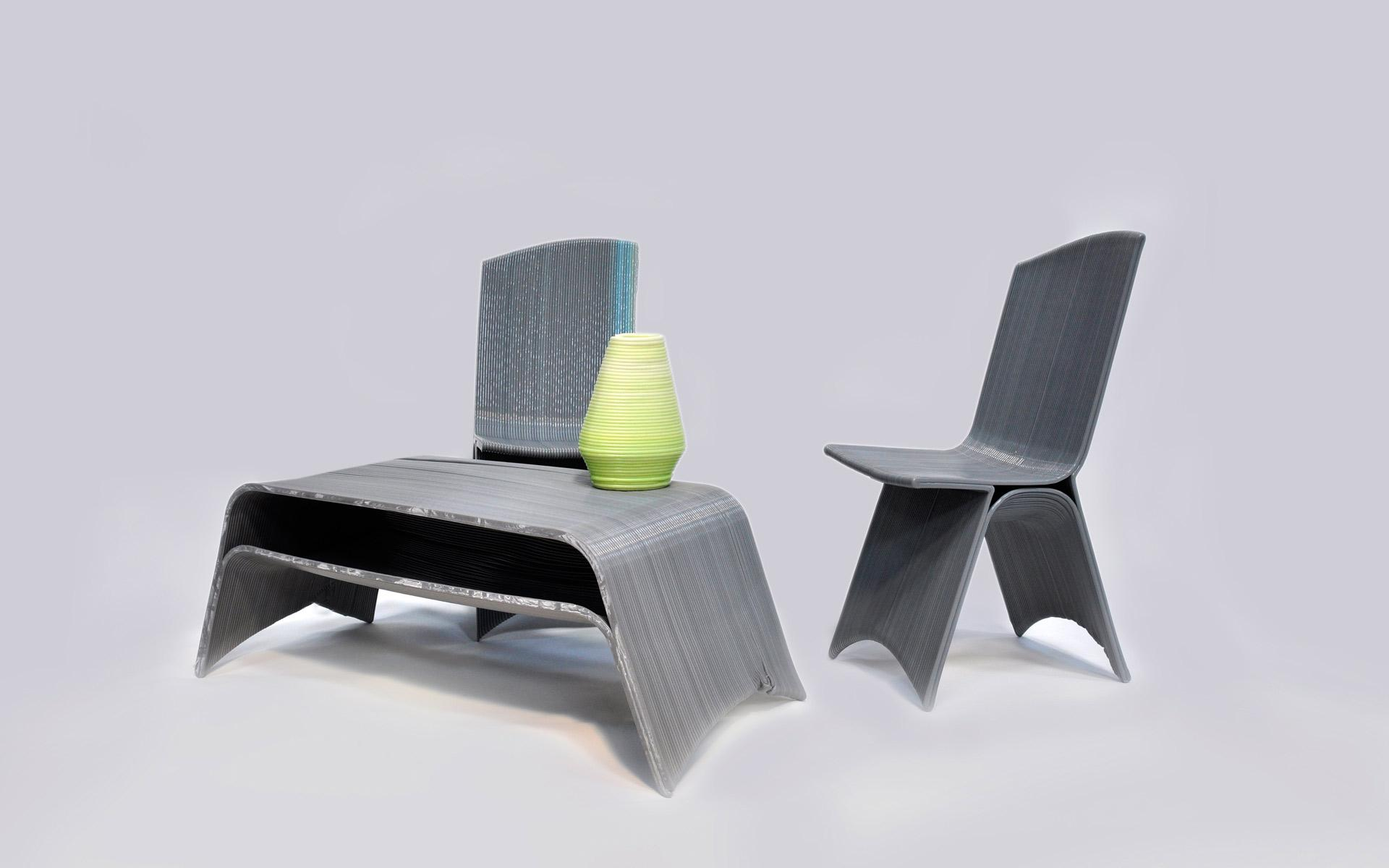 Printed Chair French Company Drawn Is Now 3d Printing Entire Furniture