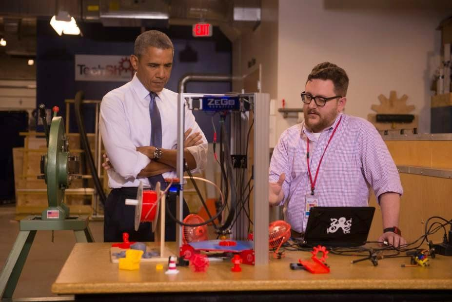 President Obama Takes a Liking to ZeGo Robotics 5in1 3D