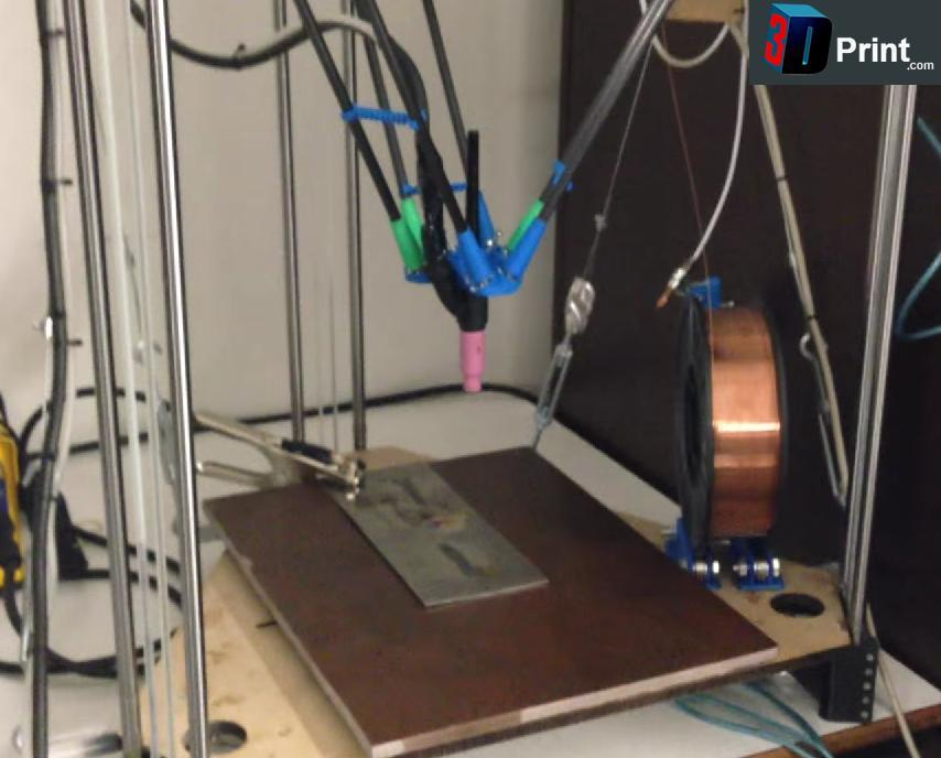 French Man Has Developed a 3D Metal Printer for Just 600