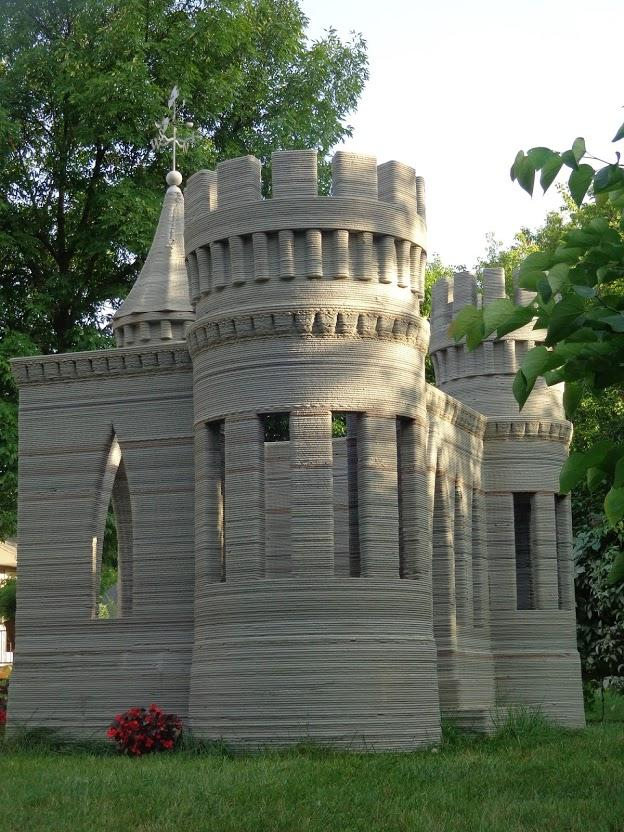 Worlds First 3D Printed Castle is Complete  Andrey